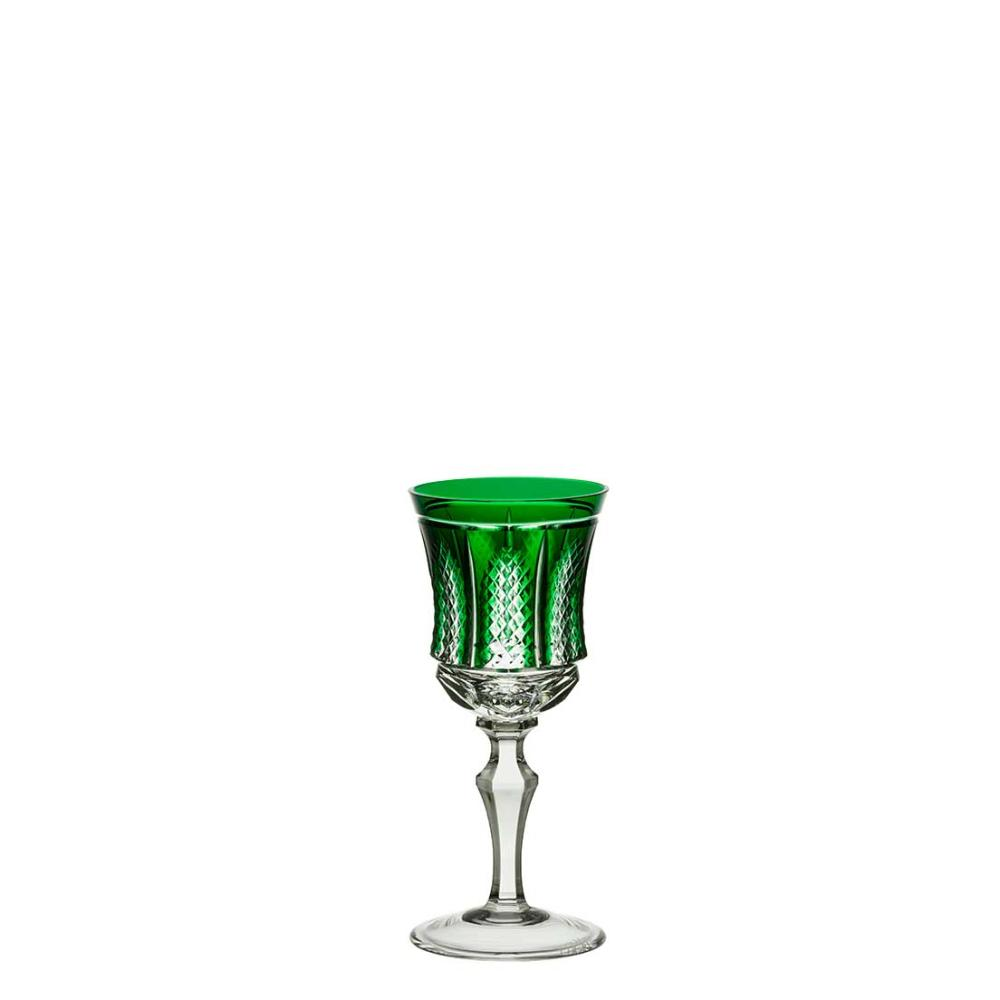 Taça de Cristal Strauss Licor 80ml - Verde Escuro - 119.105.151.014