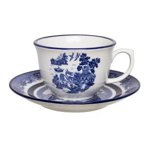 Aparelho de Jantar Chá E Café 42 Peças Flamingo Blue Willow