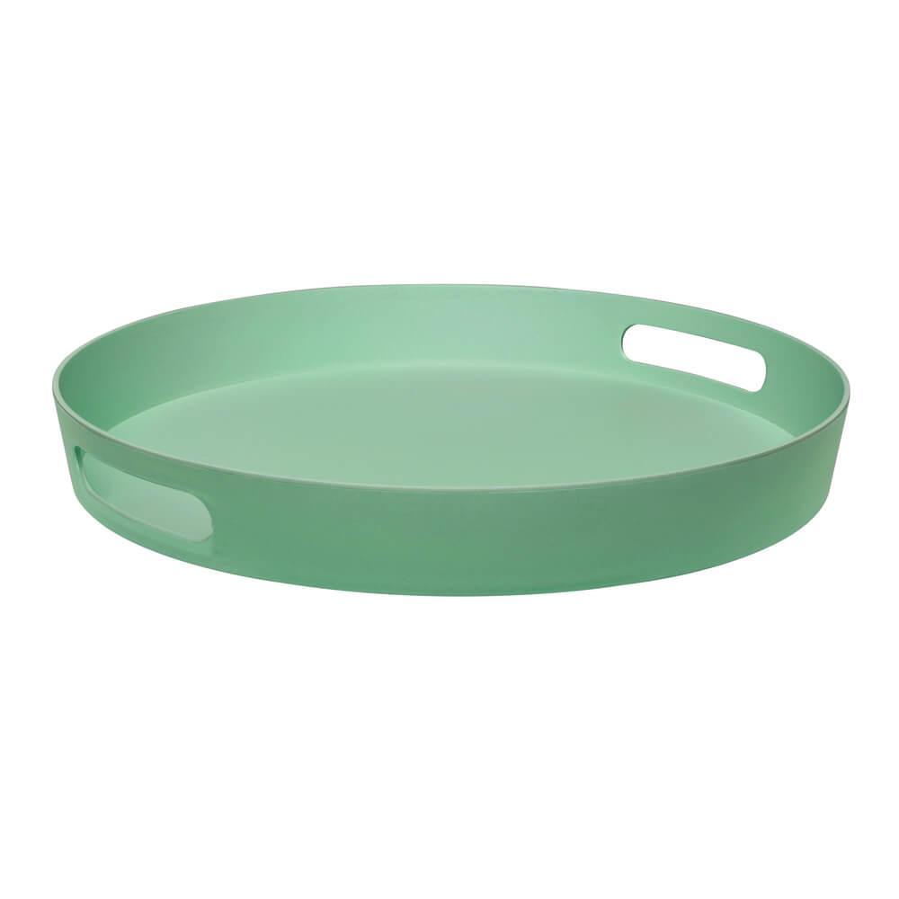 Bandeja Redonda Summer 37cm Verde