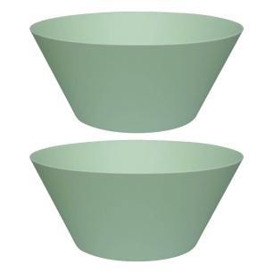 Conjunto de 2 Tigelas Grandes Summer 25cm Verde
