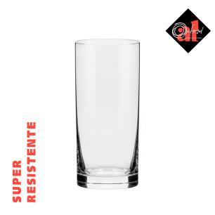Conjunto de 6 Copos De Cristal 300ml Flat Classic