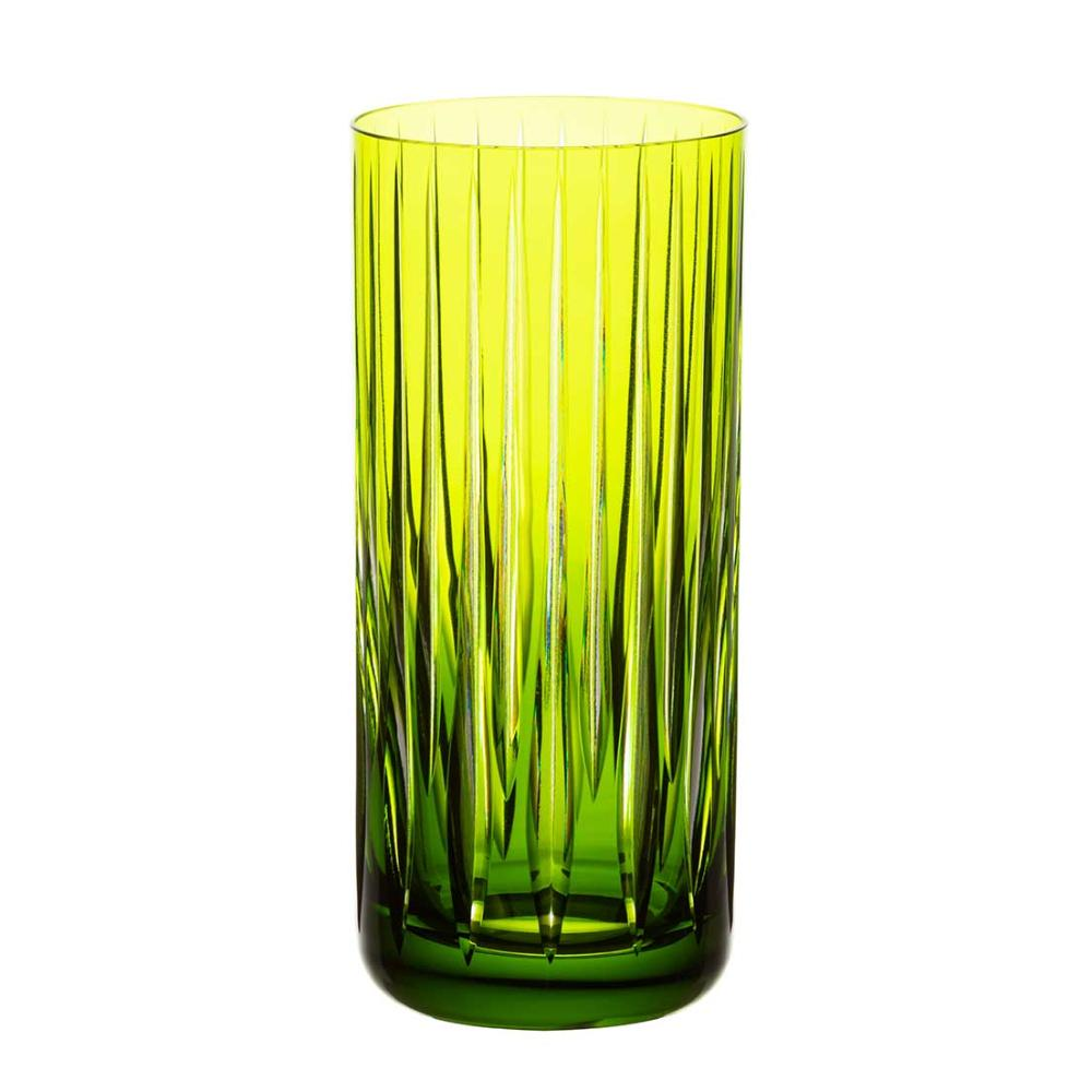 Copo de Cristal Strauss Long Drink 395ml - Verde Claro - 105.142.150.011
