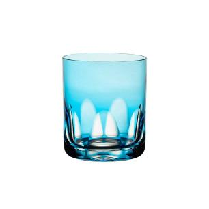 Copo de Cristal Strauss On The Rocks 430ml - Azul Claro - 105.160.065.016