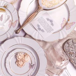 Aparelho de Jantar Chá E Café 42 Peças Soleil Encantada