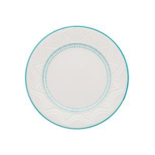 Conjunto de 6 Pratos Sobremesa 20cm Serena Sky