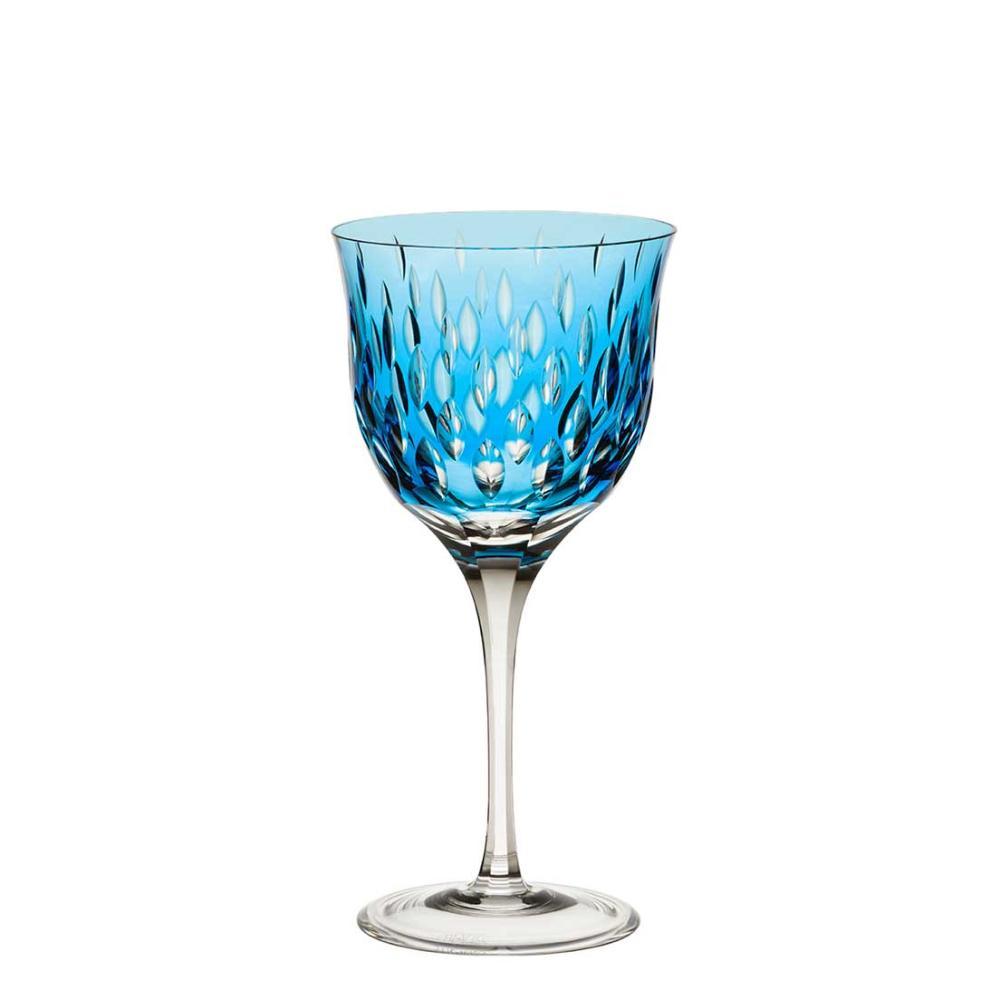 Taça de Cristal Strauss Vinho Tinto 370ml - Azul Claro - 225.102.152.016