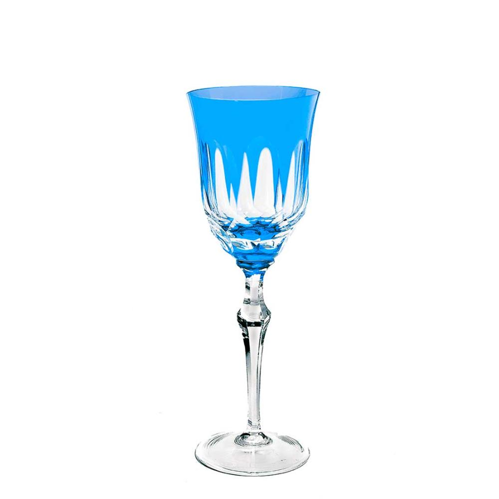 Taça de Cristal Strauss Água 460ml - Azul Claro - 237.101.055.016