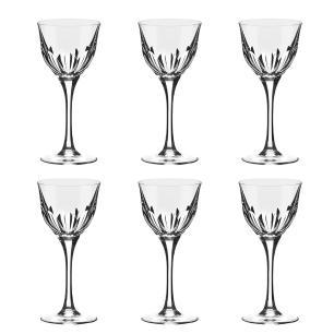 Jogo de 6 Taças em Cristal Strauss Vinho Branco 330ml - 225.603.045