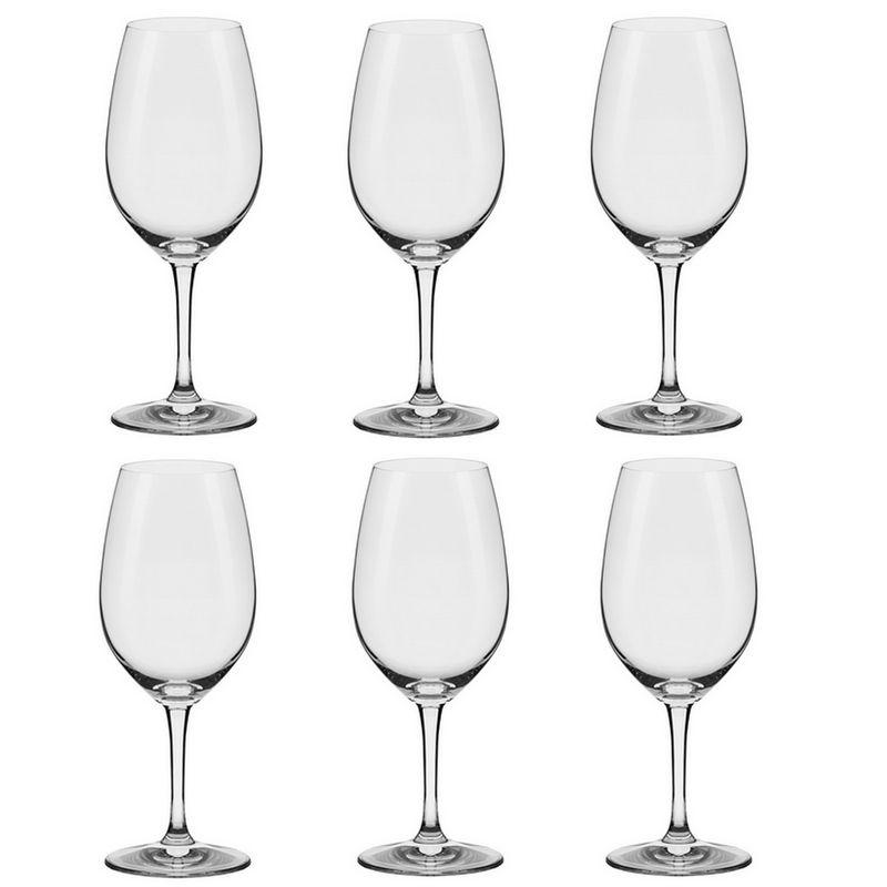 Conjunto de 6 Taças De Cristal Bordeaux 650 Play Classic