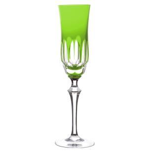 Taça de Cristal Strauss Champagne 240ml - Verde Claro - 237.107.055.011