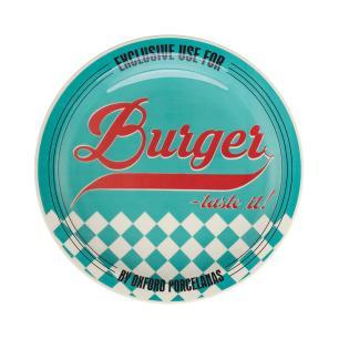 Conjunto Prato Burger 26cm Sortido 3 Peças