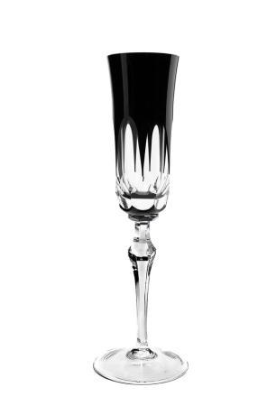 Taça de Cristal Strauss Champagne 240ml - Preto - 237.107.055.018