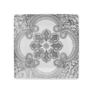 Conjunto de 6 Pratos Sobremesa 20x20cm Quartier Pantheon