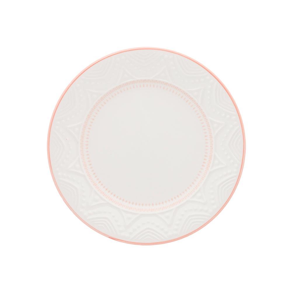 Conjunto de 6 Pratos Sobremesa 20cm Serena Sweet