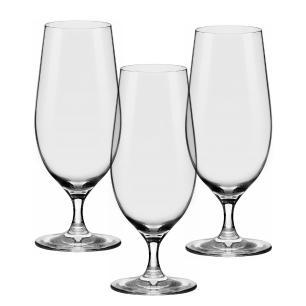 Conjunto de 3 Taças De Cristal para Cerveja 460ml Beer Glass