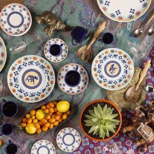 Aparelho de Jantar E Chá 30 Peças Coup Shanti