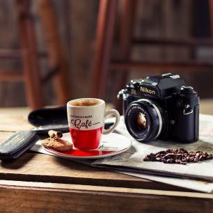 Conjunto de 6 Xícaras Café Expresso 75ml Caféína