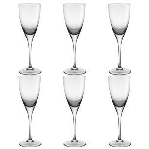 Jogo de 6 Taças em Cristal Strauss Vinho Tinto 240ml - 103.602