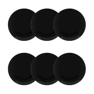 Conjunto de 6 Pratos Sobremesa 21cm Coup Black