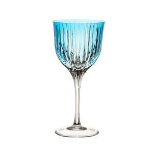 Taça de Cristal Strauss Vinho Branco 330ml - Azul Claro - 225.103.150.016