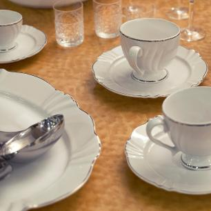 Aparelho de Jantar Chá E Café 42 Peças Soleil Katherine