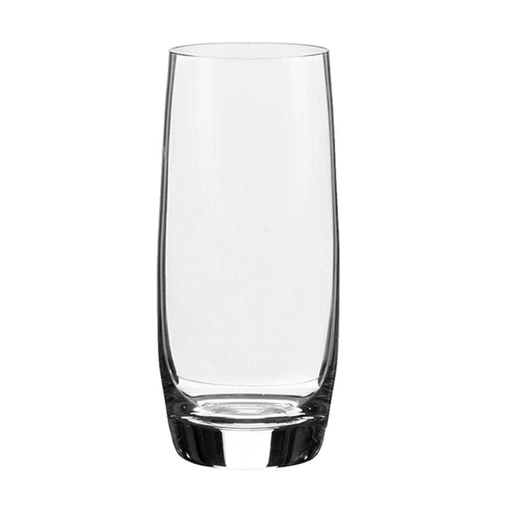 Jogo de 6 Copos em Cristal Strauss Long Drink 430ml - 100.645