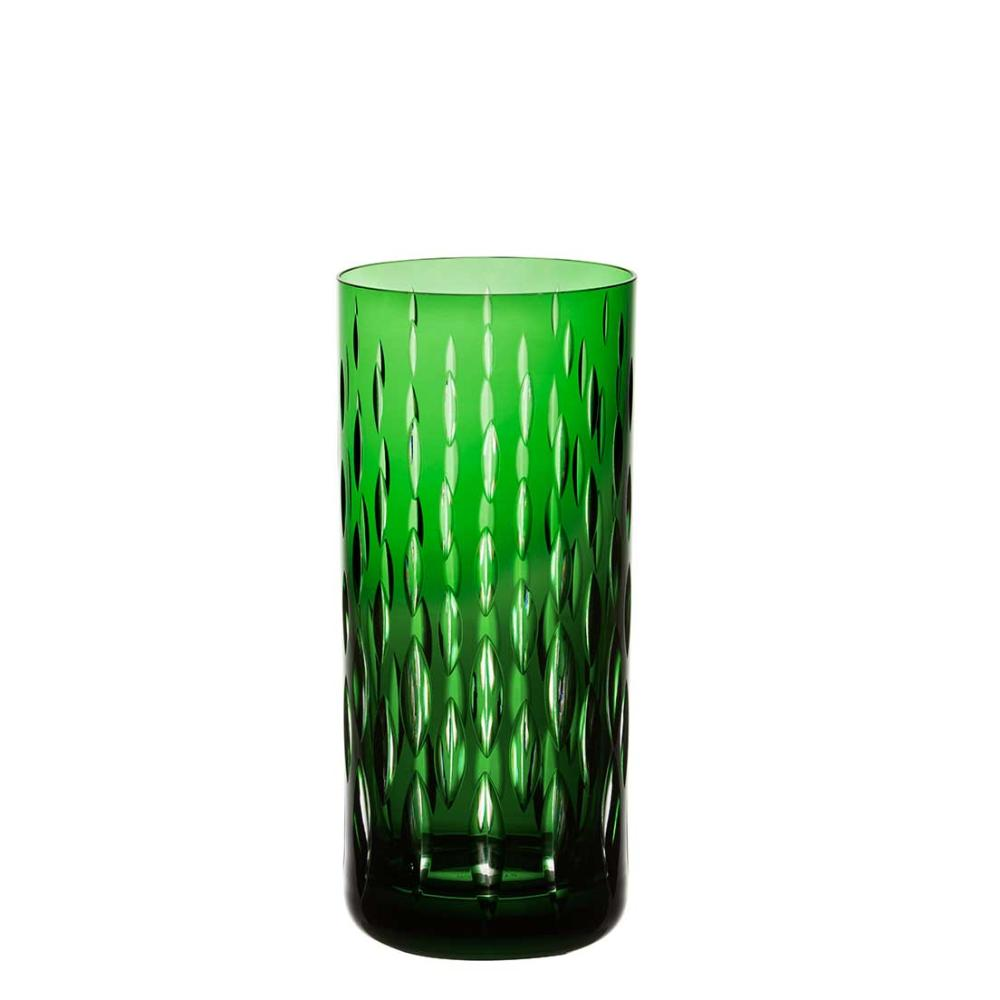 Copo de Cristal Strauss Long Drink 395ml - Verde Escuro - 105.142.152.014