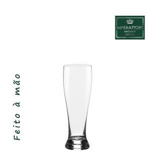 Jogo de 6 Copos em Cristal Cerveja Catarininha 200ml - Selo Prata Imperattore - 104.640