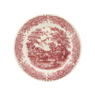Conjunto de 6 Pratos Sobremesa 19cm Vilarejo