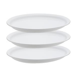 Conjunto de 3 Travessa Rasa Gourmet Pró 26x21cm