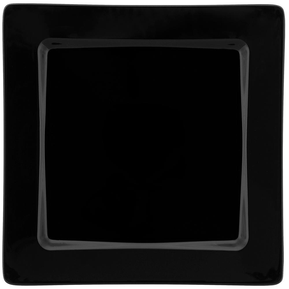 Conjunto de 6 Pratos Rasos 26x26cm Nara Black