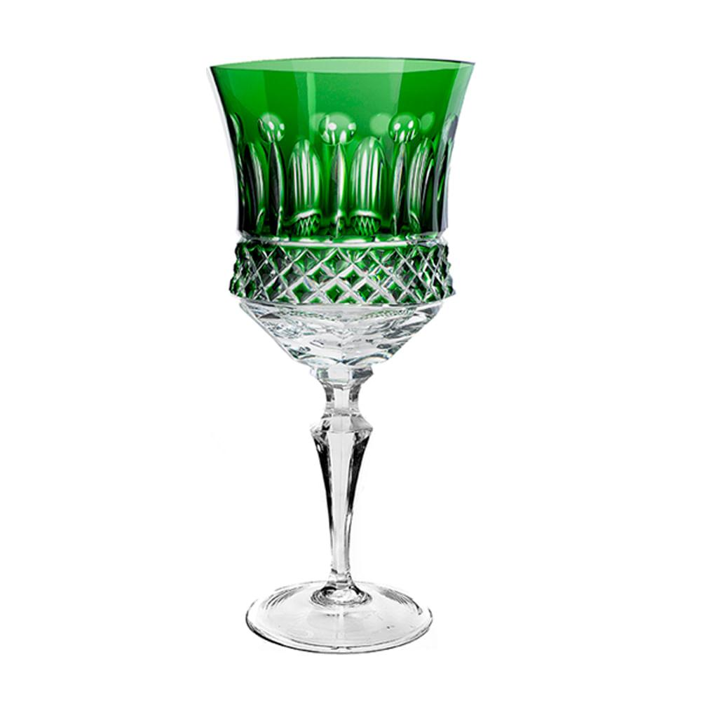 Taça de Cristal Strauss Água 400ml - Verde Escuro - 119.101.069.014