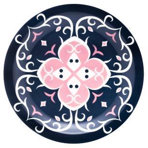 Conjunto de 6 Pratos Rasos 26cm Floreal Hana