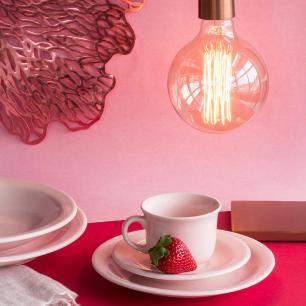Aparelho de Jantar E Chá 30 Peças Floreal Milenial