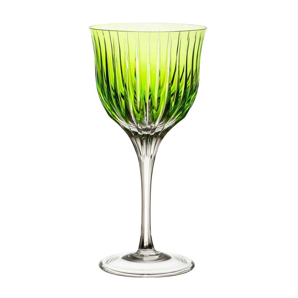 Taça de Cristal Strauss Vinho Tinto 370ml - Verde Claro - 225.102.150.011