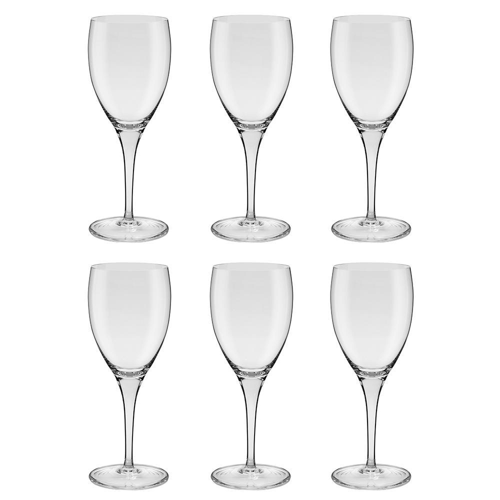 Jogo de 6 Taças de Cristal Vinho Tinto 380ml Classic