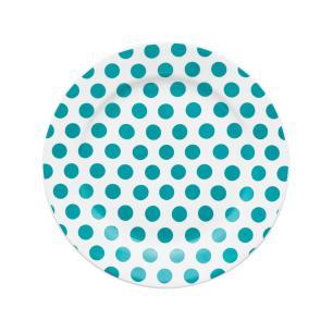 Conjunto de Pratos para Bolo Oxford Dots