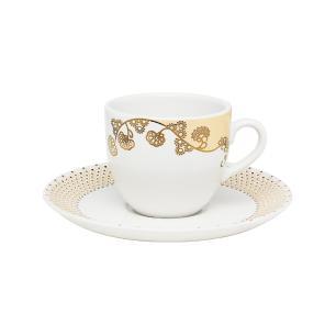 Aparelho de Jantar Chá E Café 42 Peças Coup Golden