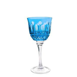 Taça de Cristal Strauss Vinho Tinto 370ml - Azul Claro - 225.102.069.016