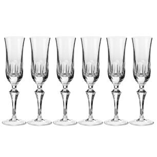 Jogo de 6 Taças em Cristal Strauss Champagne 240ml - 237.607.055