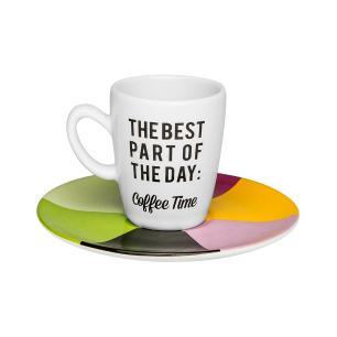 Conjunto de 6 Xícaras Café Expresso 75ml Coffee Time