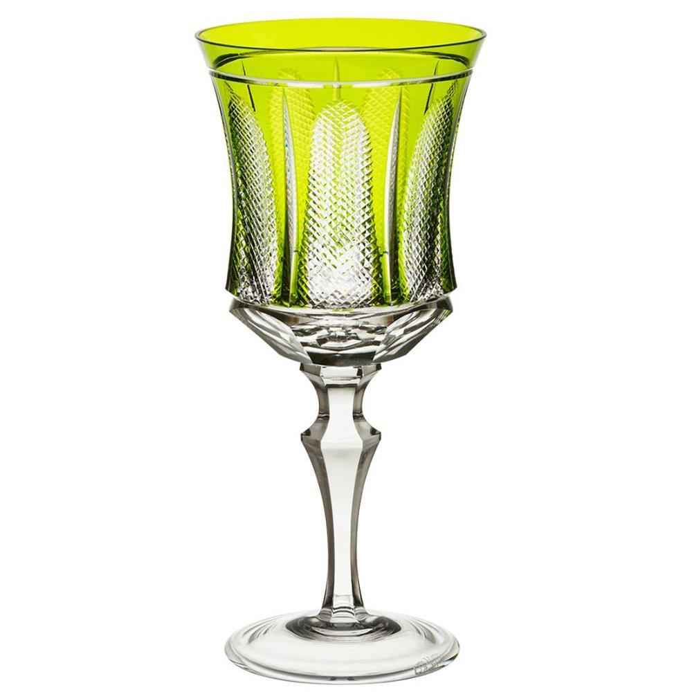 Taça de Cristal Strauss Água 400ml - Verde Claro - 119.101.151.011