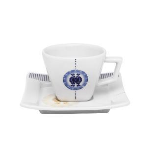 Aparelho de Jantar Chá E Café 42 Peças Nara Focus