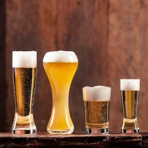 Jogo de 6 Copos de Cristal Cerveja Catarina 180ml Classic