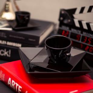 Aparelho de Jantar Chá E Café 42 Peças Quartier Black