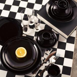 Aparelho de Jantar Chá E Café 42 Peças Coup Black