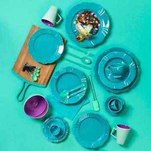 Aparelho de Jantar E Chá 30 Peças Soleil Dreams