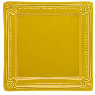 Conjunto de 6 Pratos Rasos 26,5x26,5cm Provence Minas