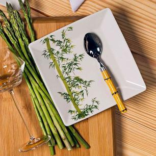 Aparelho de Jantar E Chá 30 Peças Quartier Bamboo