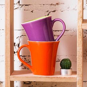 Conjunto Lanche de 2 Peças Oxford Bicolor Verde e Violeta